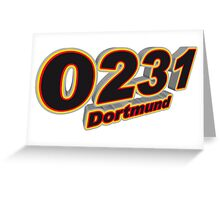 0231 Dortmund Greeting Card