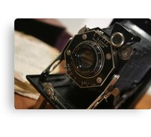 Folding Camera Canvas Print