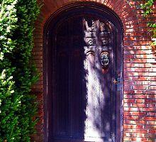 Filoli Gardens Door, Woodside, San Francisco Bay Area, California by Igor Pozdnyakov