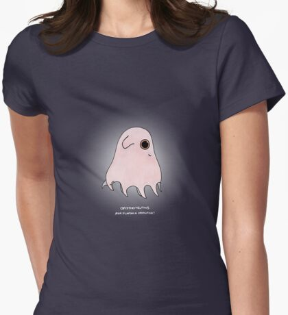 Opistoteuthis - flapjack devilfish Womens Fitted T-Shirt