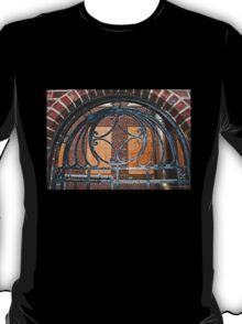 Weathered Ornate Iron Gateway T-Shirt