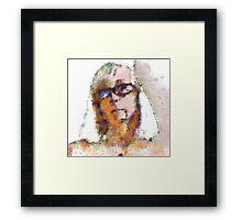 Pastel me Framed Print
