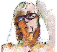 Pastel me Photographic Print