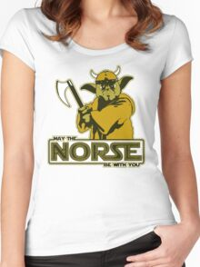 May The Norse Be With You Women's Fitted Scoop T-Shirt