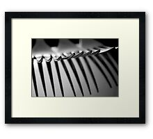 Points Framed Print