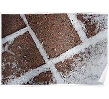 Bricks & Snow Poster