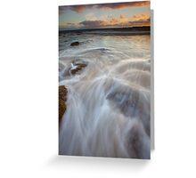 Anglesea Rush Greeting Card