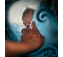 And then He was Born Photographic Print