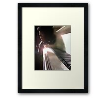 Music and Me Framed Print