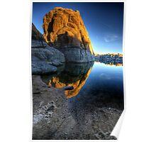 Last Light on Big Rock Poster
