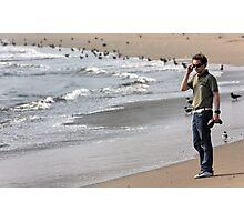 Hip Hop Star By The Beach Photographic Print