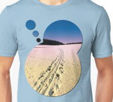 Cross country skiing | winter wonderland | landscape photography Unisex T-Shirt