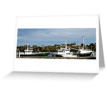 Fishers in Strahan Greeting Card