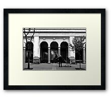 Contrast in Lifestyles Framed Print