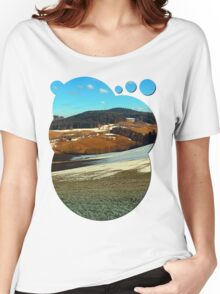 Scenic view below the Bohemian Forest | landscape photography Women's Relaxed Fit T-Shirt