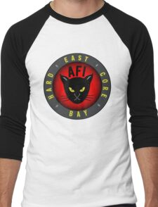 Afi East Bay Kitty Men's Baseball ¾ T-Shirt