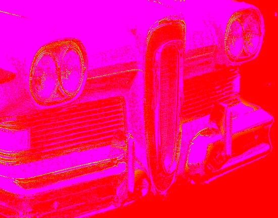 pink edsel grille by vincent bruno