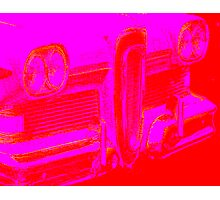 pink edsel grille Photographic Print