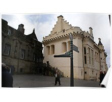 Great Hall, Stirling Castle, Scotland Poster