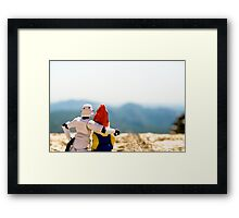 McTart and Kevin in Spain Framed Print
