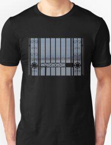 Through the Wrought Iron Gate Unisex T-Shirt