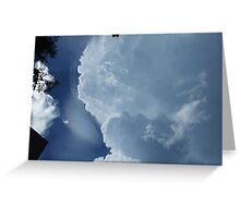 Clouds over Chichen Itza Greeting Card