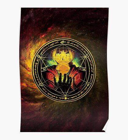 Edward Transmutation Circle Poster