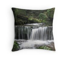 Watagan Waterfall 1 Throw Pillow