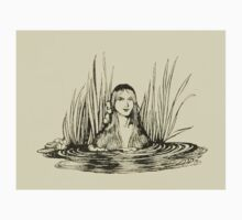 Comus Illustrated by Arthur Rackham 1921 0173 From the Reeds Kids Tee