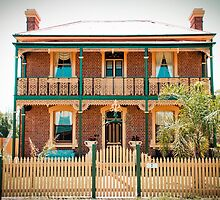 The Stationmasters house at Gerogery, NSW by Kat36