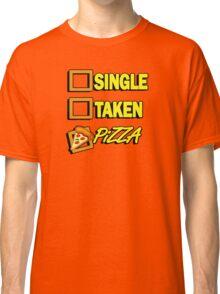 SIngle taken pizza checkboxes ticks Classic T-Shirt