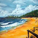 Springs Beach and the Weatherman by tola