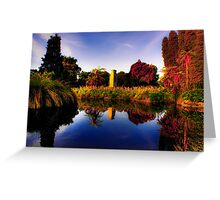 Government Gardens Greeting Card