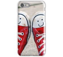 Happy Shoes iPhone Case/Skin