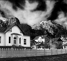 Poiana Tapului - Tribute to Ansel Adams by Andrei Calinescu