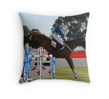 Gold Medalist - Wendy Schaffer - Royal Melbourne Show Throw Pillow