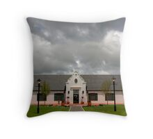 Voyager Winery Building Throw Pillow