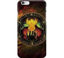Edward Transmutation Circle iPhone Case/Skin