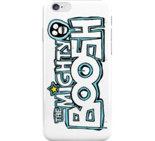 The Mighty Boosh – Dripping Blue Writing & Mask iPhone Case/Skin