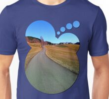 Country road through rural scenery | landscape photography Unisex T-Shirt