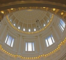Statehouse Dome . 2  by Sharon Hagler
