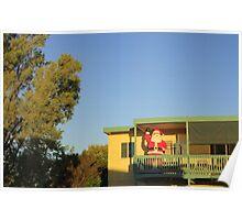 Shack No 9 - Aldinga Beach, South Australia Poster