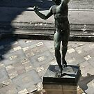 Fountain imp, Pompeii  by BronReid