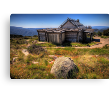 Down by Kosciusko - Craigs Hut , Mt Sterling - The HDR Experience Canvas Print