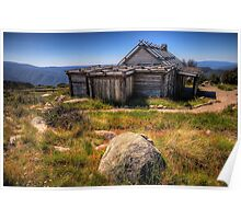 Down by Kosciusko - Craigs Hut , Mt Sterling - The HDR Experience Poster