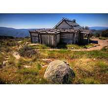 Down by Kosciusko - Craigs Hut , Mt Sterling - The HDR Experience Photographic Print