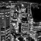Sydney at night 19 by John Vandeven
