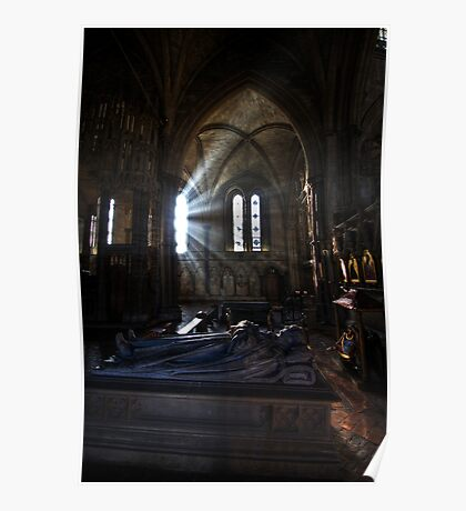 SunRays - Winchester Cathedral Poster