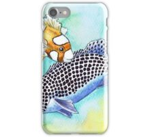 Postcards for the Reef 10: Harlequin Sweetlips, 2 generations iPhone Case/Skin