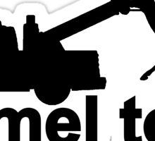 Camel Tow Sticker